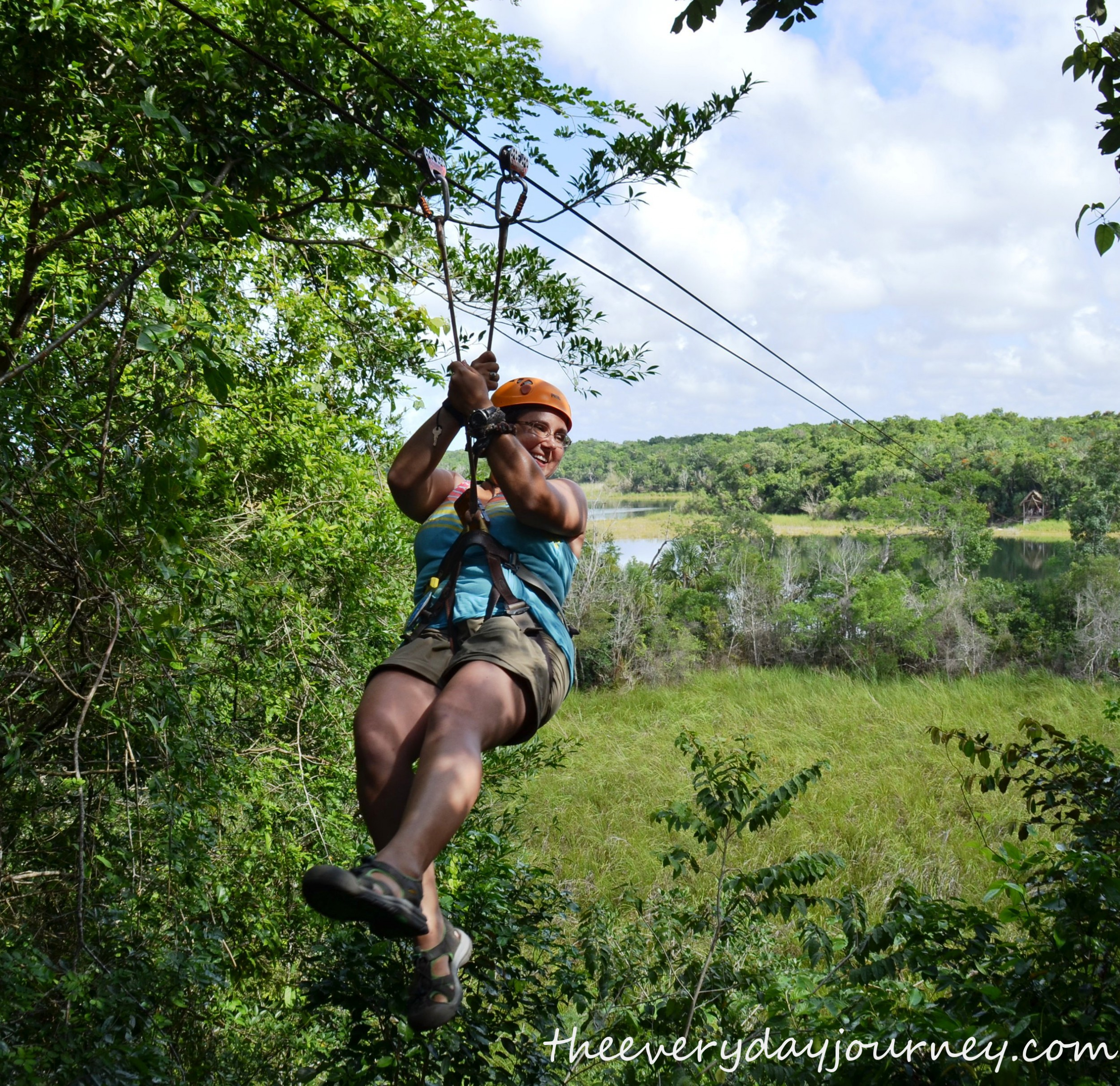 I really love the ziplines on the Mayan Encounter tour!
