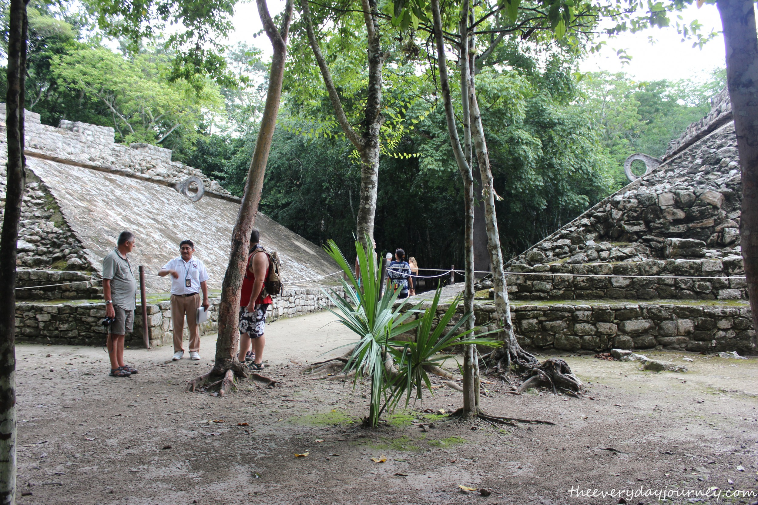 Beautiful Mayan ballcourts.