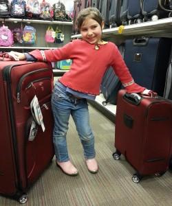 planning luggage