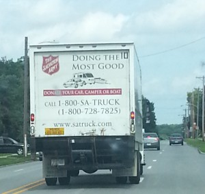 The next day I was following this down the road...taunting me.